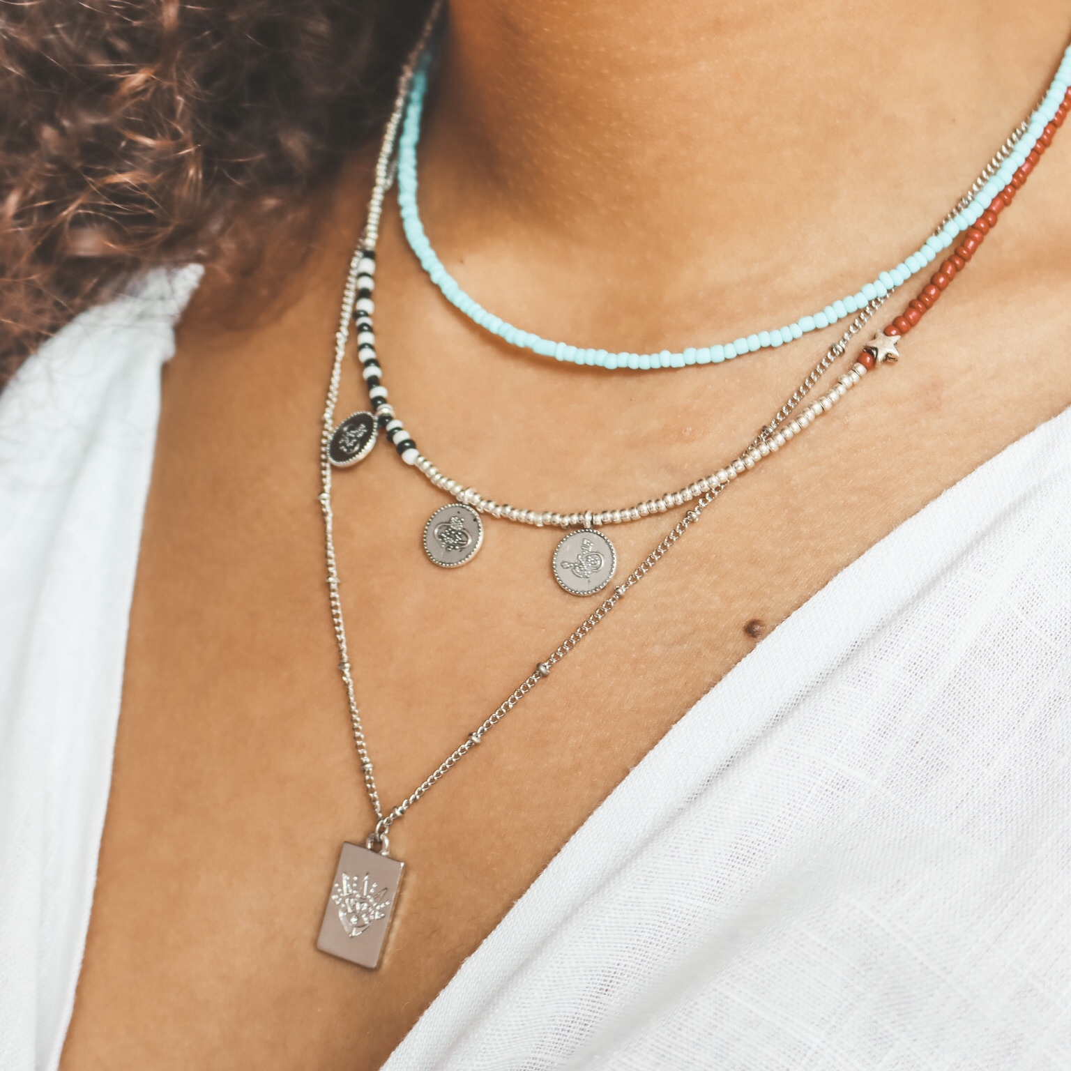 Fine jewelry: heart tag silver